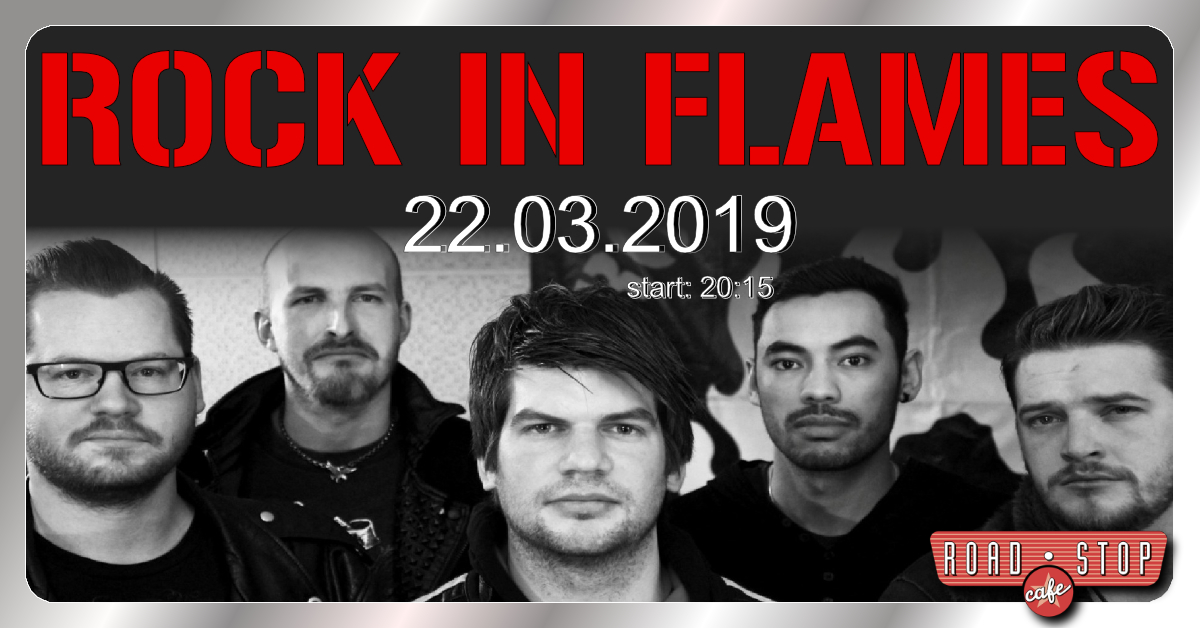 rock in flames im road stop cafe